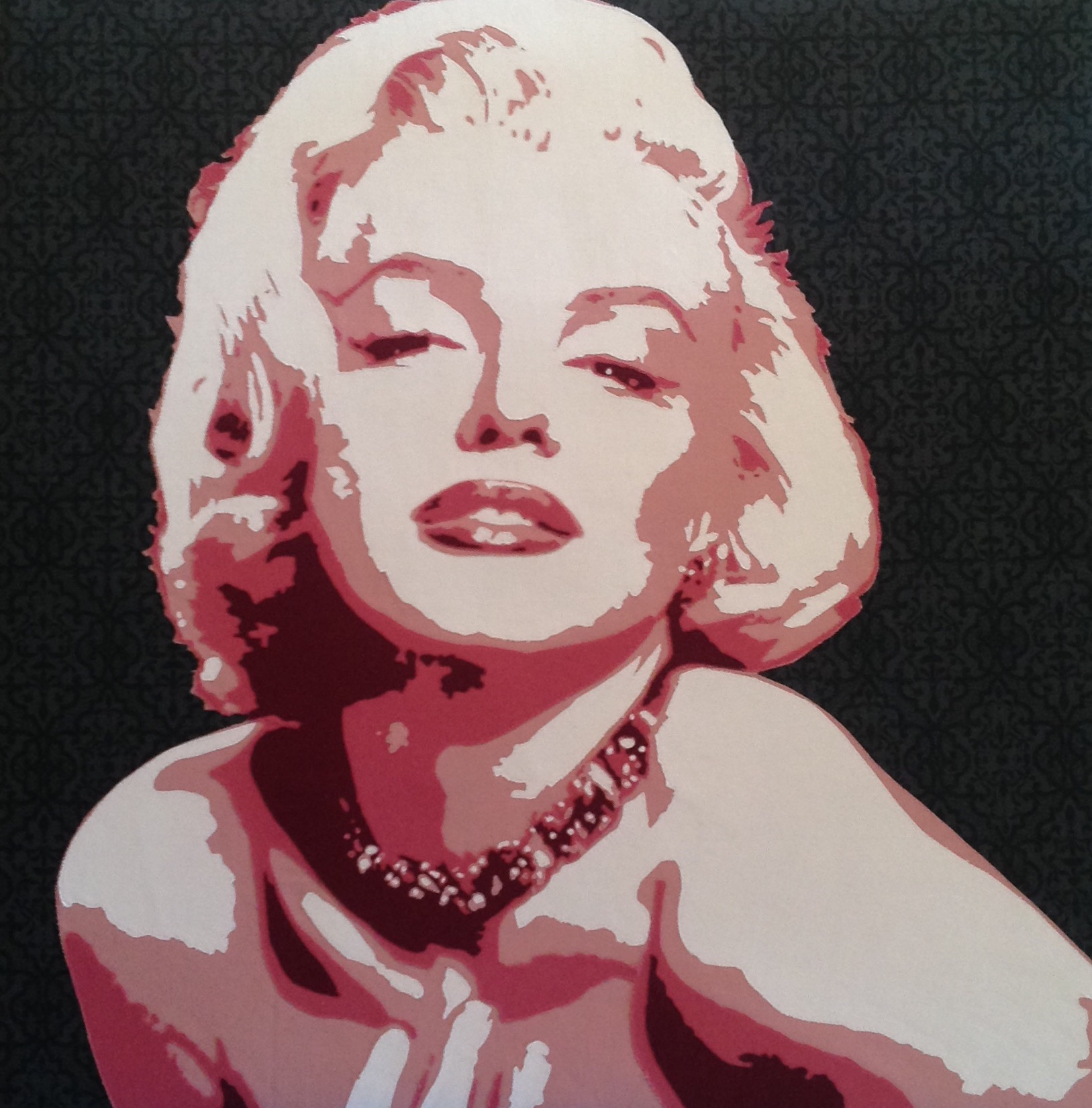 """Marilyn in Shades of Lipstick"""